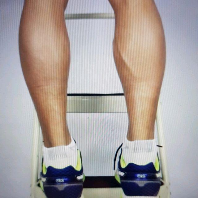 How to do: Eccentric Double Leg Calf Raise - Step 7