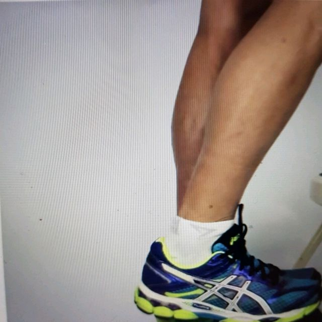 How to do: ECCENTRIC SINGLE LEG CALF RAISE - Step 2