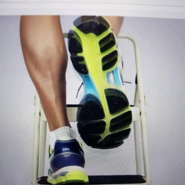 How to do: ECCENTRIC SINGLE LEG CALF RAISE - Step 12