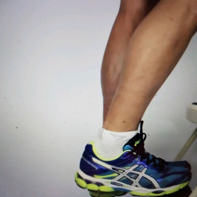 How to do: ECCENTRIC SINGLE LEG CALF RAISE - Step 7