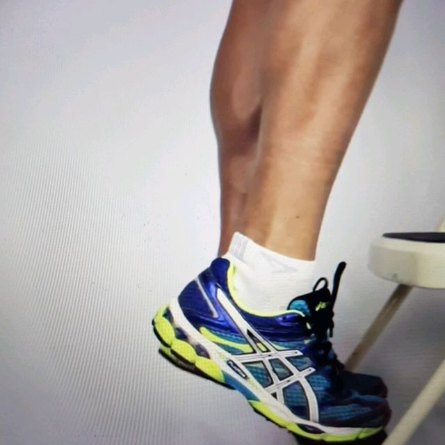 How to do: ECCENTRIC SINGLE LEG CALF RAISE - Step 8