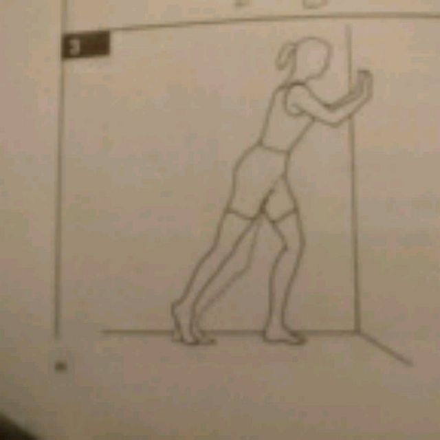How to do: Plantar Arch Stretch Right - Step 1