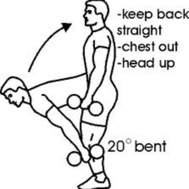 How to do: Semi-stiff Deadlift - Step 1