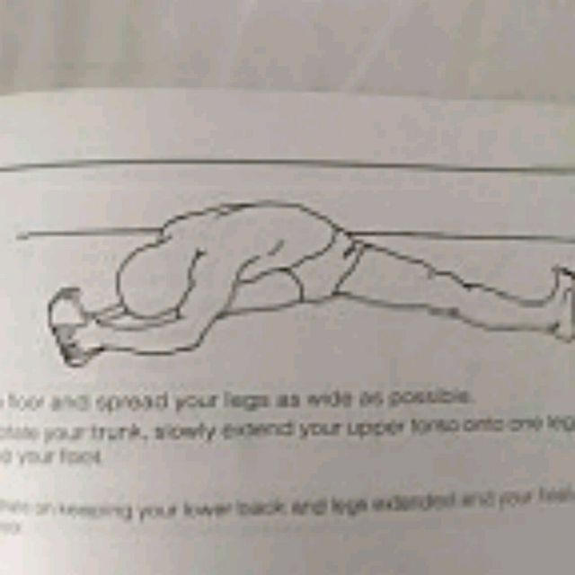 How to do: Right Abductor Stretch - Step 1