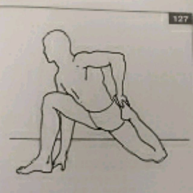 How to do: Left Quadricep Stretch - Step 1