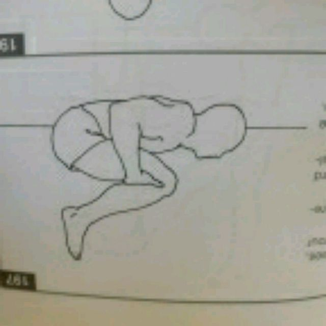How to do: Lying Down Lower Back Stretch - Step 1