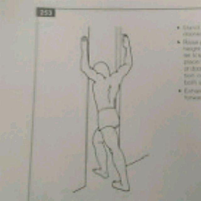 How to do: Pectoral Stretch - Step 1