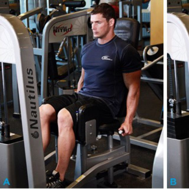 How to do: Thigh Adductor Machine - Step 1