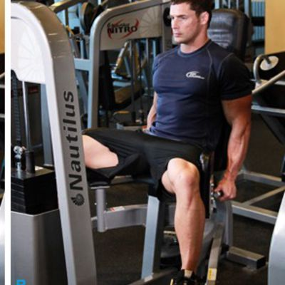 Thigh Adductor Machine