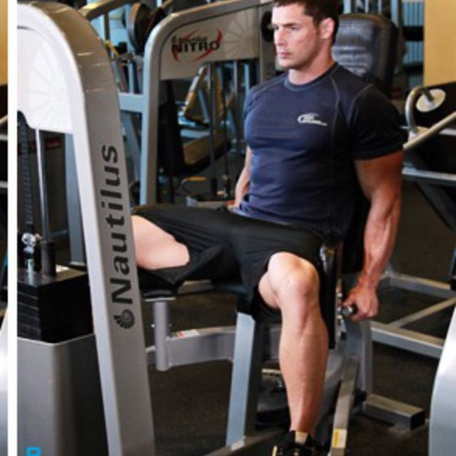 How to do: Thigh Adductor Machine - Step 2