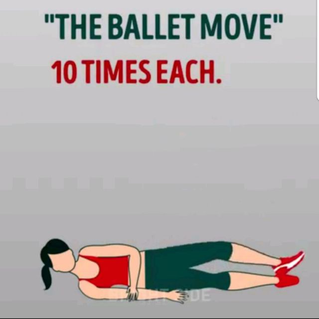 How to do: The Ballet Move - Step 1