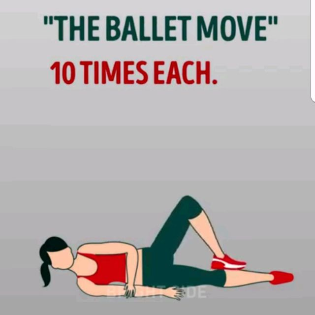 How to do: The Ballet Move - Step 2