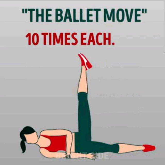 How to do: The Ballet Move - Step 3