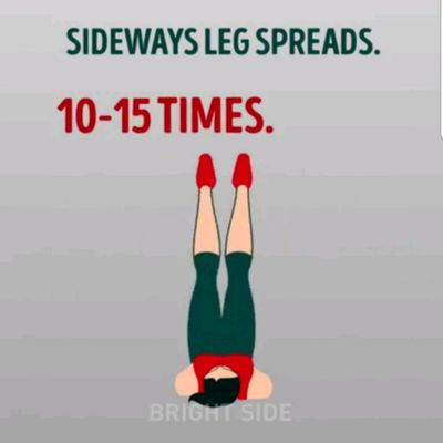 Sideways Leg Spreads
