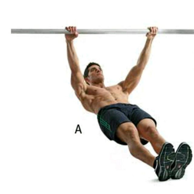 How to do: Australian Pull-ups - Step 1