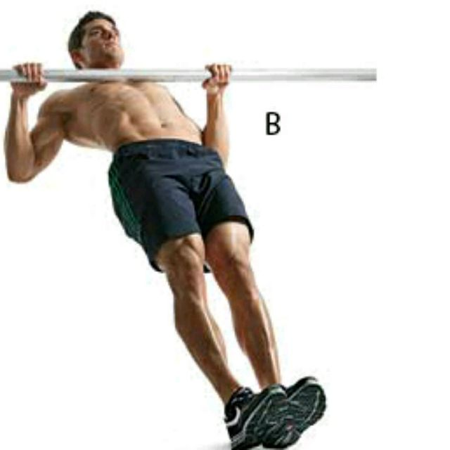How to do: Australian Pull-ups - Step 2