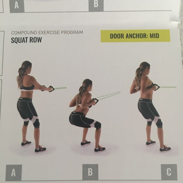 How to do: Squat Row - Step 1