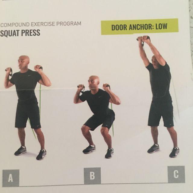 How to do: Squat Press - Step 1