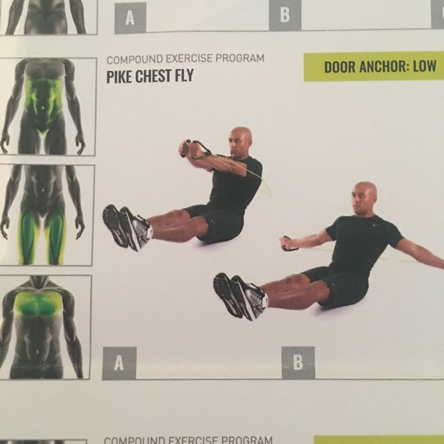 How to do: Pike Chest Fly - Step 1