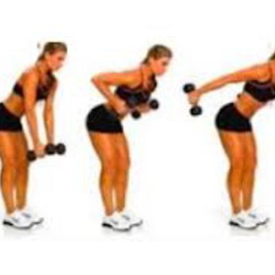 Alternating Row + Tricep Extension