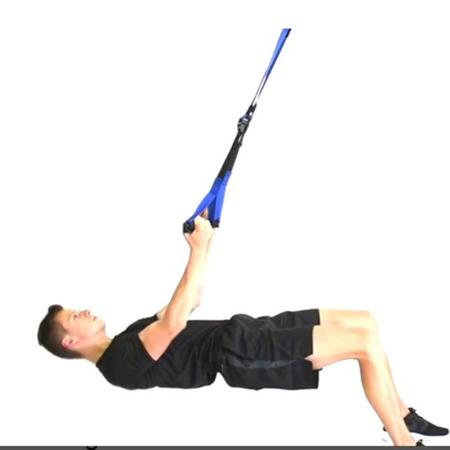 How to do: TRX Table top rows - Step 1