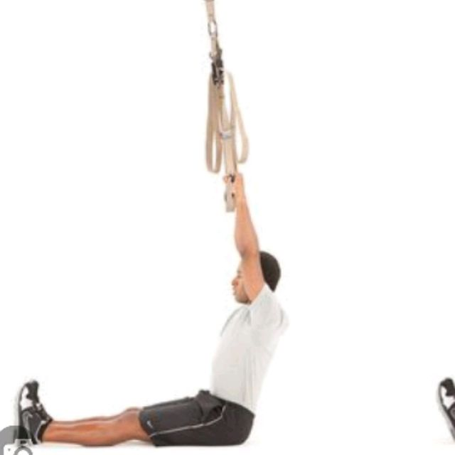 How to do: TRX PULL-UP - Step 1