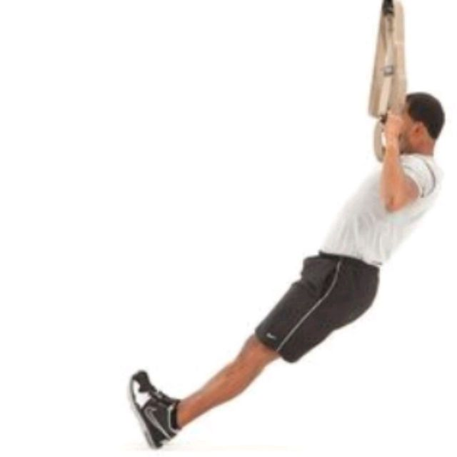 How to do: TRX PULL-UP - Step 2