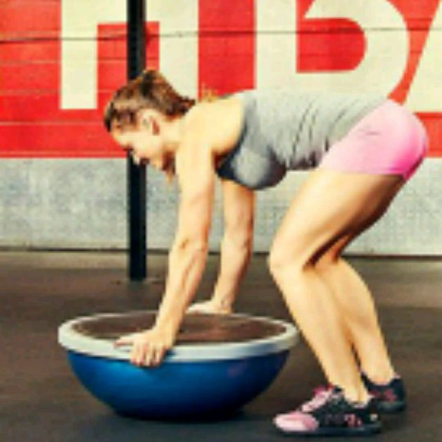 How to do: Bosu Burpee - Step 4