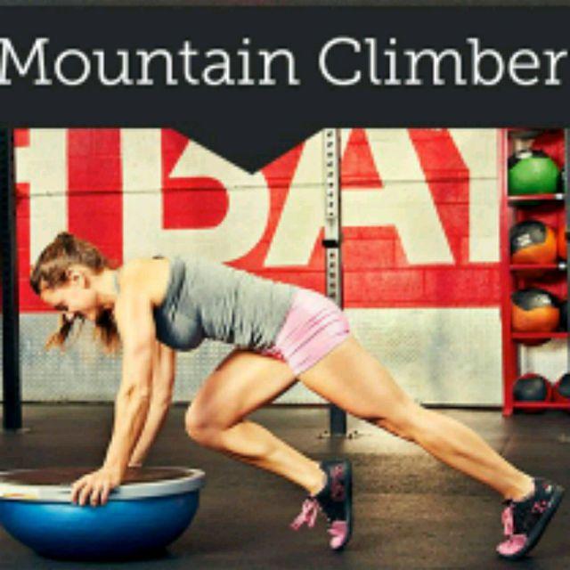 How to do: Bosu Mountainclimber - Step 1