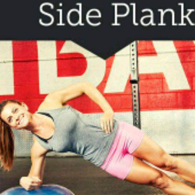 How to do: Right Bosu Side Plank Balance - Step 2