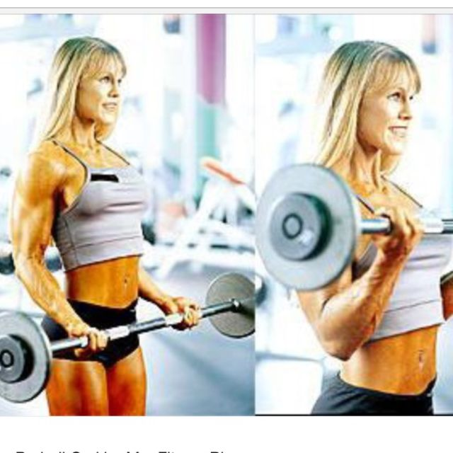 How to do: Barbell Curls - Step 1