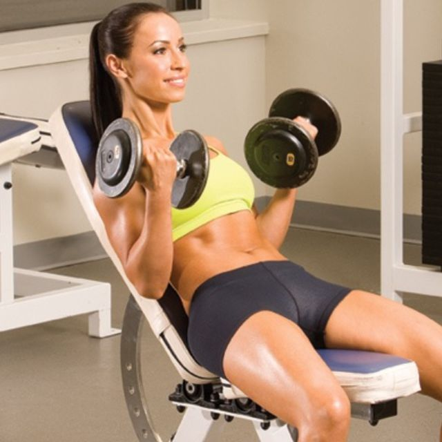 How to do: Incline Curls - Step 1