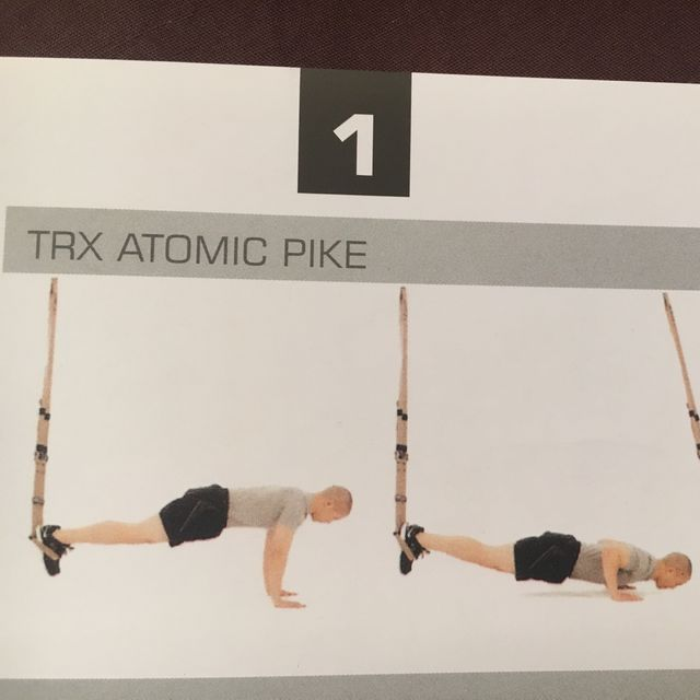 How to do: TRX Atomic Pike - Step 1