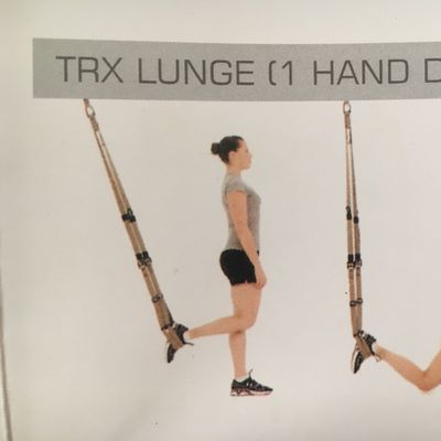TRX Lunge