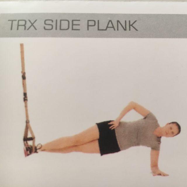 How to do: TRX Side Plank - Step 1