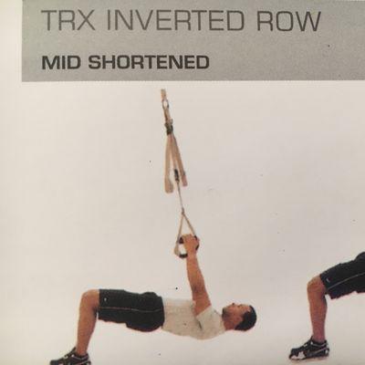 TRX Inverted Row
