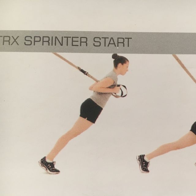 How to do: TRX Sprinter Start - Step 1