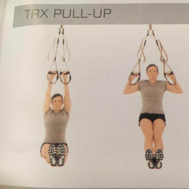 How to do: TRX Pull Up - Step 1