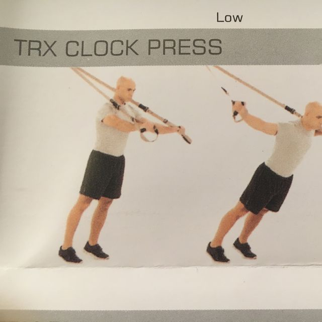 How to do: TRX Click Press - Step 1