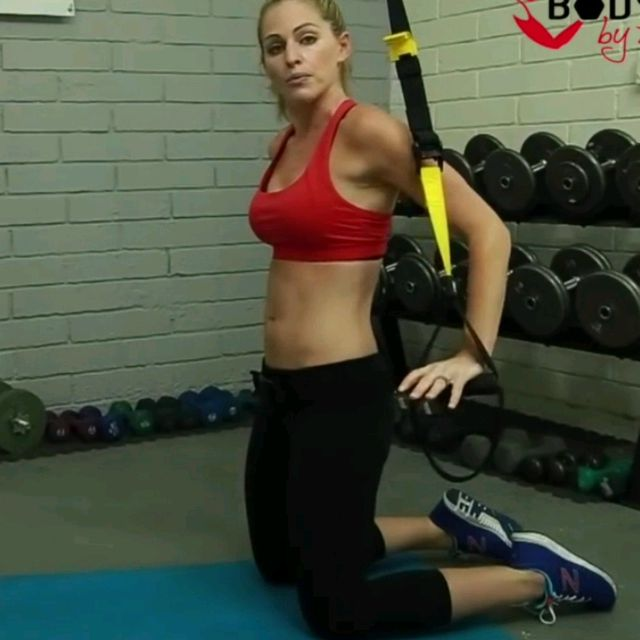 How to do: TRX ROLL OUT - Step 2
