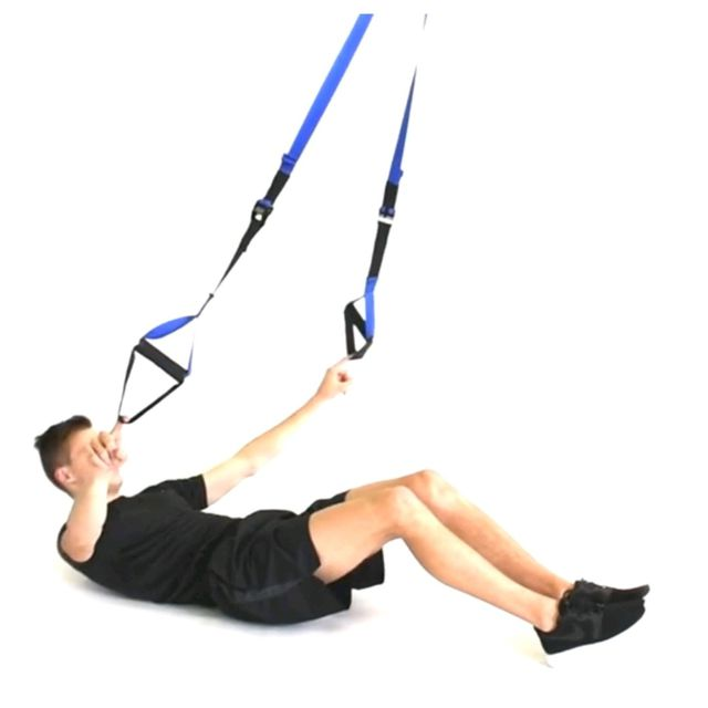 How to do: TRX SITUPS - Step 1