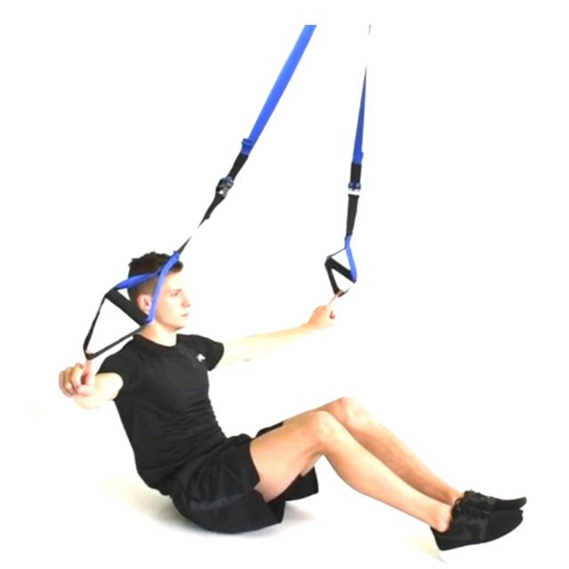 How to do: TRX SITUPS - Step 2