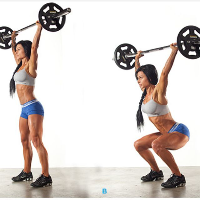 How to do: Overhead Squat - Step 1
