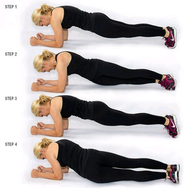 How to do: Plank Twist - Step 1