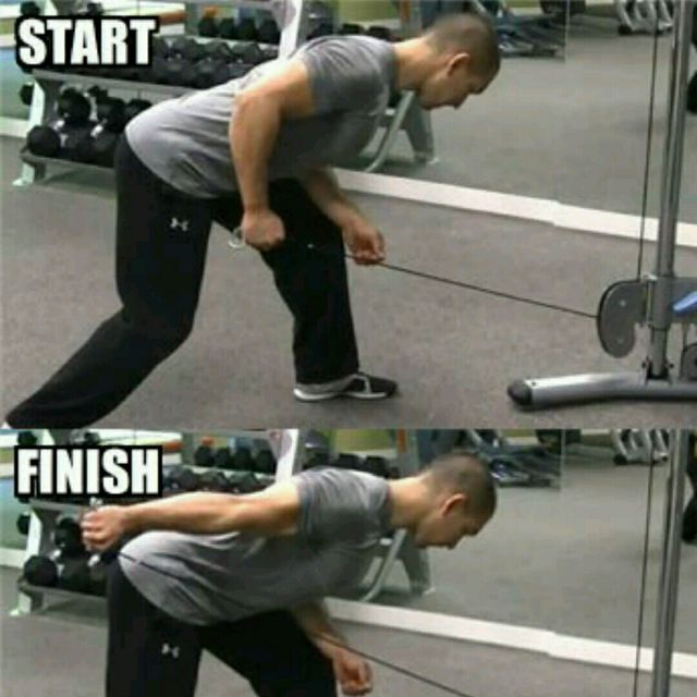 How to do: CM One Arm Triceps Kickback - Step 3