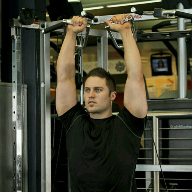 How to do: CM Double Arm Overhead Shoulder Press - Step 4