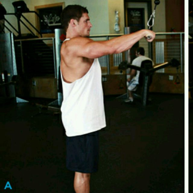 How to do: CM Straight Arm Lat Pull down - Step 1