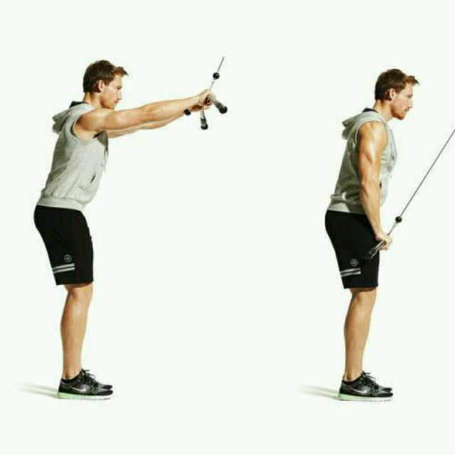 How to do: CM Straight Arm Lat Pull down - Step 3