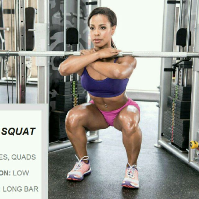 How to do: CM Front Squats - Step 1