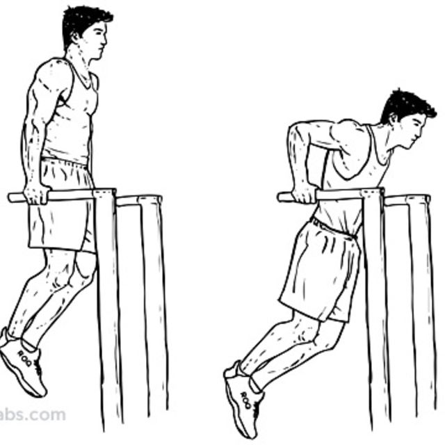How to do: Dips - Step 1